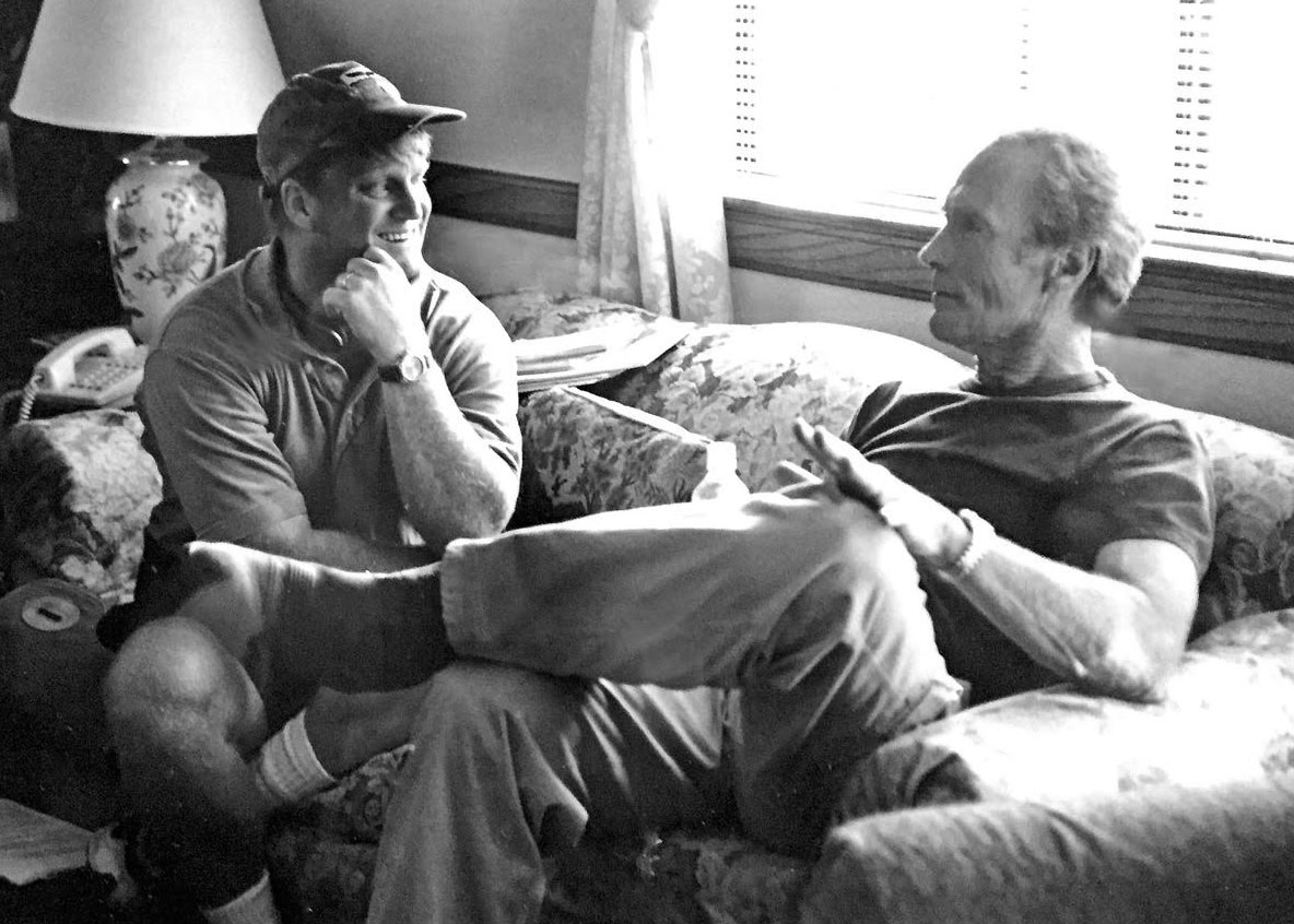 Howard Klausner with Clint Eastwood